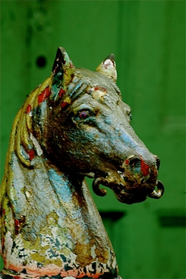 Horse Head Hitching Post - New Orleans French Quarter